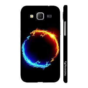 Enthopia Designer Hardshell Case I am Hot N' I am Cold Back Cover for Samsung Galaxy Core Prime