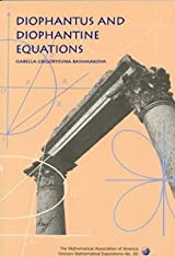 DIOPHANTUS AND DIOPHANTINE EQUATIONS