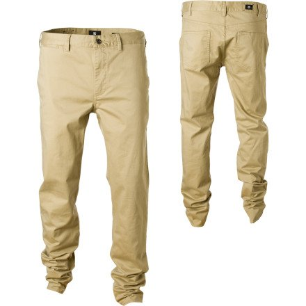 DC Straight Fit Chino Pant - Men's Khaki, 38/Reg