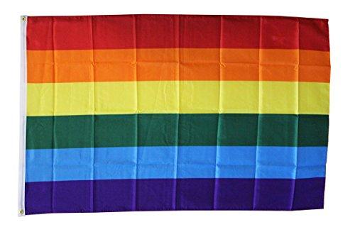 Rainbow ~ 3' x 5 Dura-Poly ? Polyester Novelty Flag by Flagline