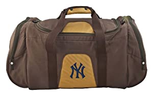 MLB New York Yankees Duffel Bag On the Road Collection by Pangea Brands