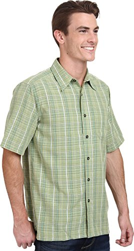 Royal robbins men 39 s pilat plaid s s artichoke button up for Royals button up shirt