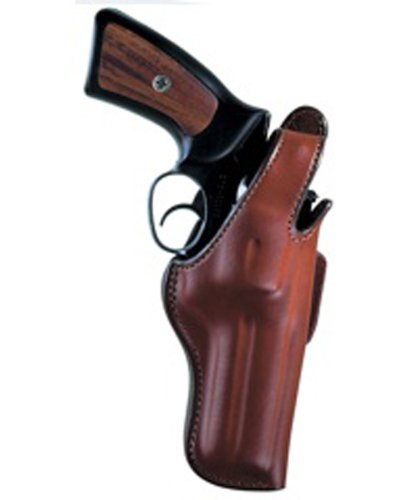 Bianchi 5BHL Thumbsnap Holster - Ruger Gp100 4-Inch (Tan, Right Hand)