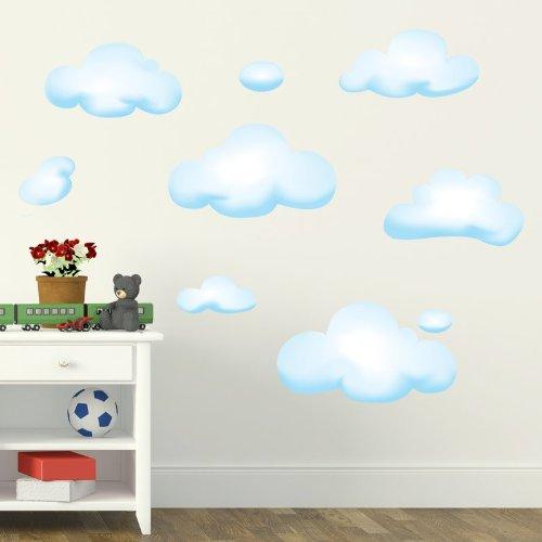 STIKID - WALL CLOUDS - nuvolette azzurre per
