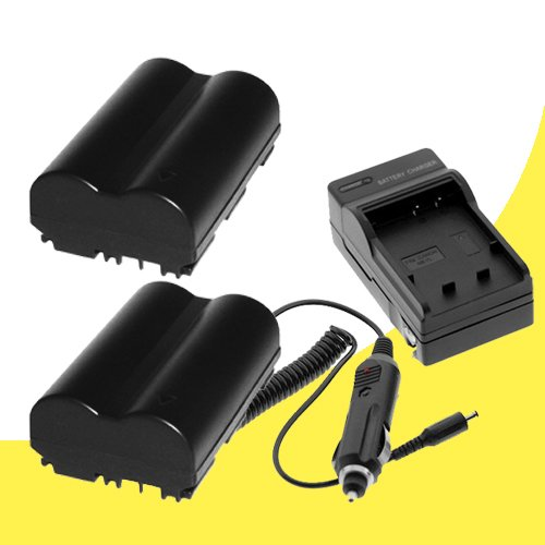 Canon Powershot PRO 1 Digital Camera BP-511 Battery and Wall Charger with Car Charger Adapter DavisMAX PRO1 BP511 Battery Charger Bundle (Halcyon Extra Battery compare prices)