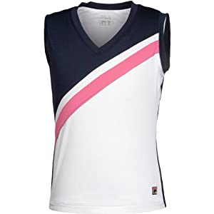 Fila V-Neck Top Girls
