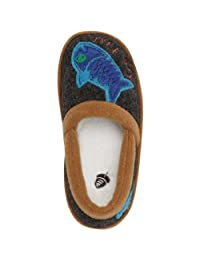 ACORN Little Kid/Big Kid Go Fish Moc Slipper