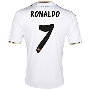 2013-14 Ronaldo Real Madrid Home Jersey. Size Men Small. by B.