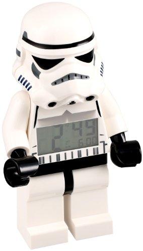 LEGO Kids' 9002137 Star Wars Storm Trooper Mini-Figure Alarm Clock by LEGO