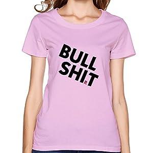 Printing Machine Bullshit Funny Woman's T-shirts