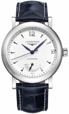 LONGINES Watch:NEW LONGINES HERITAGE COLLECTION CLOUS DE PARIS MENS WATCH L2.703.4.16.0 Images