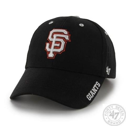 MLB San Francisco Giants Men's Frost Structured Cap, One Size, Black at Amazon.com
