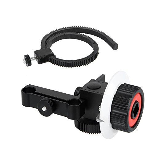 Viltrox Cage pour caméra vidéo, Follow Focus compatible Tige 15mm
