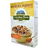 Cascadian Farm Organic Granola Cereal Oats And Honey 16 OZ (Pack Of 12)