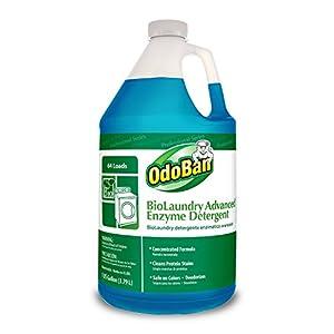OdoBan 968262-G BioLaundry Advanced Enzyme Detergent, 1 Gallon Bottle
