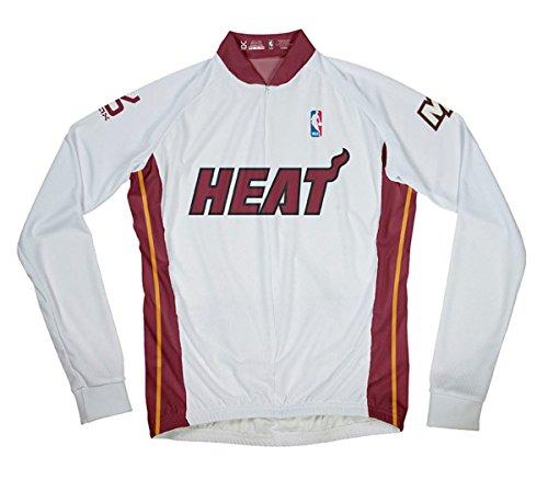NBA Miami Heat Men's Long Sleeve Cycling Jersey