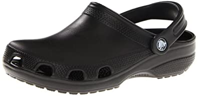 Crocs Adult Relief, Black - 9 Mens