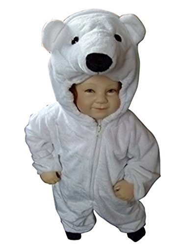 Fantasy World F24 Halloween Polar Bear Costume for children Size 4T (Halloween Costume Ideas For Toddlers)