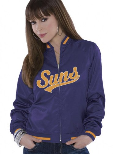 Phoenix Suns Women's Reversible Satin Jacket - by Alyssa Milano at Amazon.com