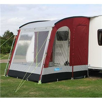 Kampa Rally 200 Awning Lagoon Blue 2012