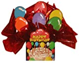 Cookie Bouquet filled with decorated cookies in a Happy Birthday box
