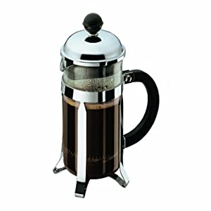 Bodum Chambord 3 Cup Shatterproof French Press Coffeemaker, 0.35 l, 12-Ounce by Bodum