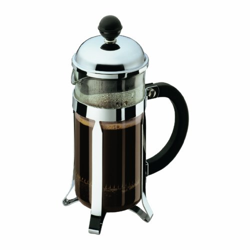 Bodum Chambord 3 Cup Shatterproof French Press Coffeemaker, 12-Ounce