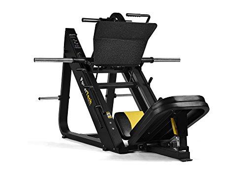 PowerTech Fitness 45 gradi commerciale lineare Leg Press Macchina