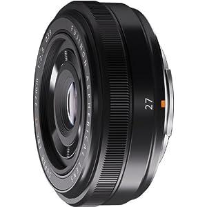 FUJIFILM XFレンズ FUJINON XF27mm F2.8 単焦点 広角 F XF27mmF2.8 ブラック