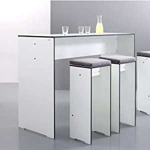Bar table cuisine bar table cuisine sur enperdresonlapin for Bar cuisine conforama