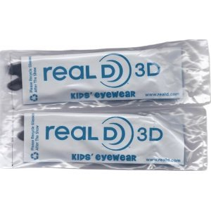 Kids Size Genuine Sealed RealD Circular Polarized