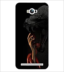 PrintDhaba Snakes D-3483 Back Case Cover for ASUS ZENFONE MAX ZC550KL (Multi-Coloured)