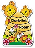 Personalised Busy Bee Door Plaque