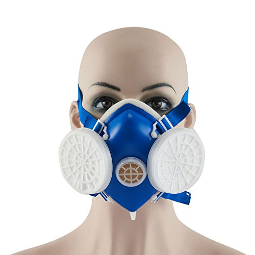 Joyutoy Reusable Anti-Dust Mask Paint Spray Respirator PM 2.5 KN90 Respirator Face Shield (Style-2) (Military Green Spray Paint compare prices)