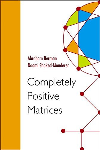 Completely Positive Matrices by Abraham Berman (2003-04-15)