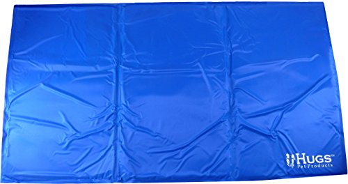 "Hugs Pet Products Chilly Mat Comfort Cooling Gel Pet Mat, Large (36"" x 20"")"