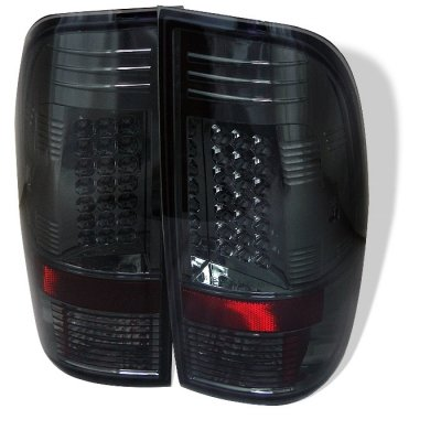 Spyder Auto 111-Ff15097-Led-Sm Led Tail Lights - Smoke Lens/Chrome Housing