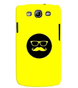 MakeMyCase Smiley Moustache For Samsung s3