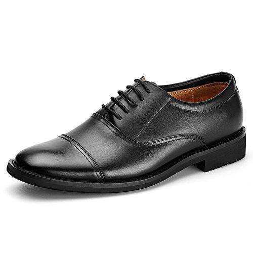 Scarpe da uomo/pattini casuali di affari Primavera/Captain laccio di cuoio uniformi militari scarpe militari/Tre scarpe comuni-A Lunghezza piede=27.8CM(10.9Inch)