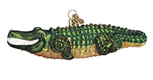 #!Cheap Old World Christmas Ornament - Alligator