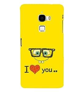 EPICCASE glassy love Mobile Back Case Cover For LeTV Le Max (Designer Case)
