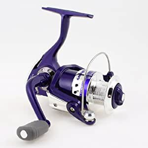 Foldable handle gear ratio 5 0 1 angling for Purple fishing reel