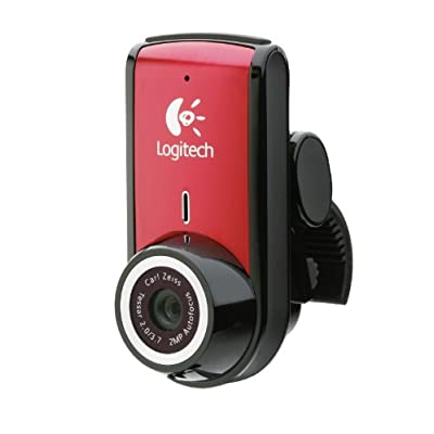 Logitech 960-000689 Webcam (Red)