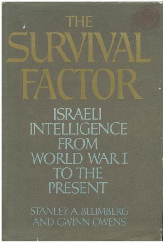 Title: The survival factor Israeli intelligence from Worl