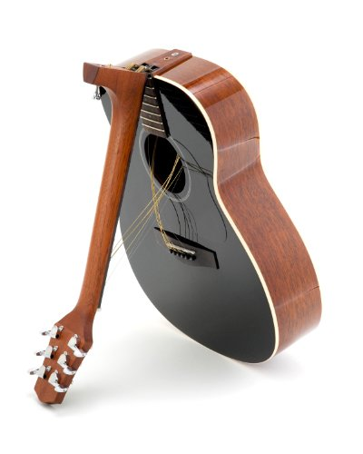 Voyage-Air Songwriter Series VAOM-04BK Folding Orchestra Model Acoustic Guitar, Jet-Black