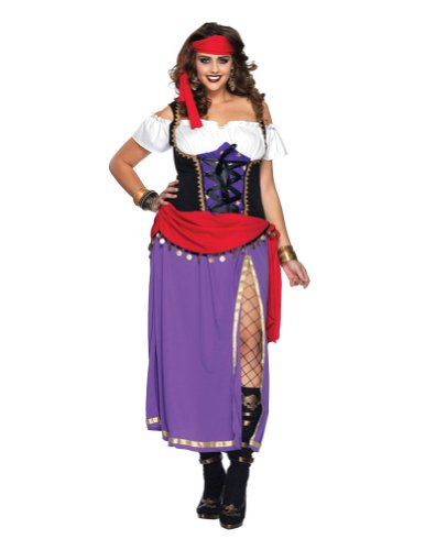 Plus Size Costume Sexy Traveling Gypsy