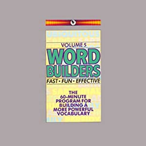 Word Builders: Volume 5 | [Audio University]