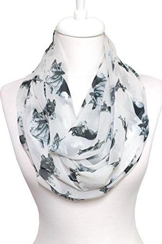 Handmade German Shepherd Infinity scarf