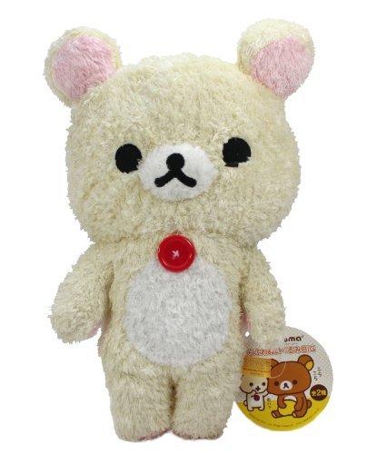 "Rilakkuma Relax Bear Plush Doll - 12"" Fluffy Korilakkuma"