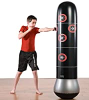 Pure Boxing Inflatable Free-Standing MMA Training/Punching Bag with Bounce-Back Base from Pure Global